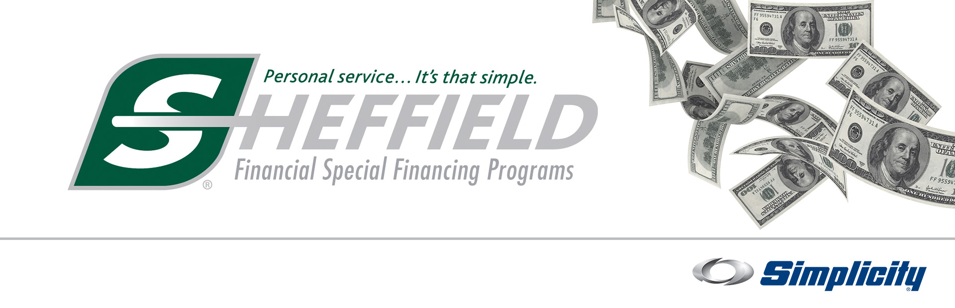 Simplicity: Sheffield Financial Special Financing Programs